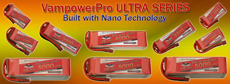 Vampowerpro Ultra Series Batteries