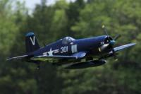 1400mm F4U Corsair Blue Parts