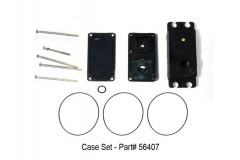 HS-7940TH / 7945TH / 7950TH / 8360TH / 8370TH / 8380TH  Case Set (WITHOUT Heat-Sink)