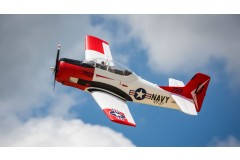 E-flite T-28 Trojan 1.2m BNF Basic Scale Warbird RC Airplane