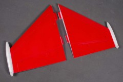 FMS F16 FE002 Main wing set-Red (EPS)
