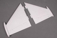 FMS F16 FE002 Main wing set-White (EPS)