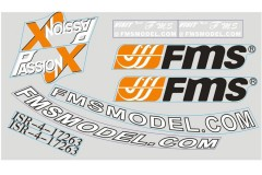 FMS 1.4M F3A FF118 Decal sheet