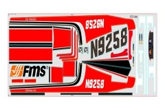 FMS 1400mm Sky Trainer 182 MG305-AR Stickers