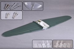 FMS 1400mm Zero MJ102-GREEN Main Wing Set