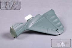 FMS 1400mm Zero MJ104-GREEN Rudder