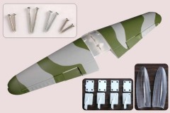 FMS 1400mm BF109 ML102-CAMO Main Wing Set