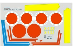 FMS 800mm Zero PB 112 Decal sheet