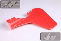 FMS 1700mm P51D SG103-Red Tail Rudder