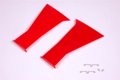 FMS 1700MM P51D SG315-RED TAIL Outer fairing door