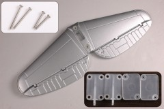 FMS 1700mm P47 SH104-Silver Horizontal Stabilizer