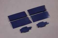 FMS 1700mm F4U SI206-Blue Front landing gear hatch cover