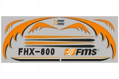 FMS 800mm Easy Trainer 800 SN112 Sticker
