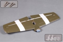 FMS 1400mm P51B ST103-Dallas Darling Horizontal Stabilizer