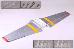 FMS 1400mm P-51D SU102-Red tail Main Wing