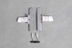 FMS 1400mm P-51D SU109 Old Crow Rear Landing Gear Door