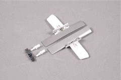 FMS 1400mm P-51D SU109-Petie 2nd Rear Landing Gear Door