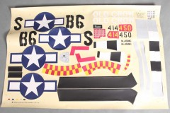 FMS 1400mm P-51D SU131 Old Crow Decal Sheet