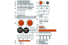 FMS 1400mm P-51D SU132 Detailed Decal Set