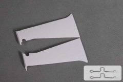 FMS 1400mm P-51D SU135 Old Crow Outer Fairing Door