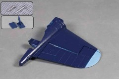 FMS 1400mm F4U-4 SV103-BLU Vertical stabilizer
