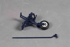 FMS 1400mm F4U-4 SV125-BLU Rear landing gear system