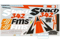 FMS Sbach342 SY120 Decal Sheet