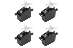 JR (4) DS285MG x4 Digital Hi-Speed Sub-Micro MG Servo