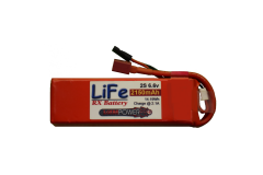 Vampowerpro Platinum RX 2150mAh 2S (6.6v) Receiver LiFe Battery Narrow