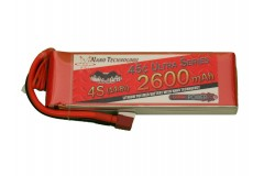 Vampowerpro Ultra Series 2600mAh 4S (14.8v) 45C Lipo Battery