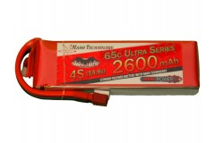 Vampowerpro Ultra Series 2600mAh 4S (14.8v) 65C Lipo Battery