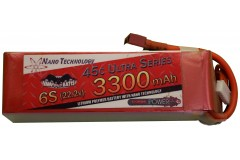 Vampowerpro Ultra Series 3300mAh 6S (22.2v) 45C Lipo Battery