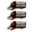 Vampowerpro Platinum (3) 350mAh 2S (7.4v) 35C Lipo Battery x3 w/ JST Connector