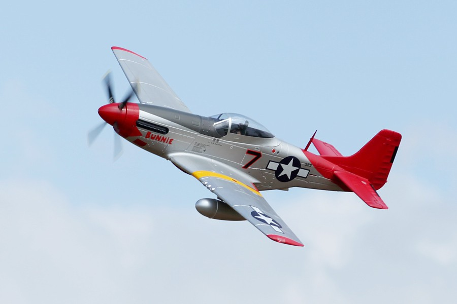 Fms 1700mm P51 Red Tail Pnp
